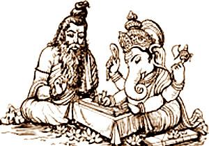ganesh_vyasa_mahabharatha